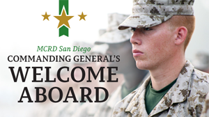 Commanding General's Welcome Aboard