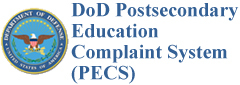 DoD Postsecondary Education Complaint System (PECS)