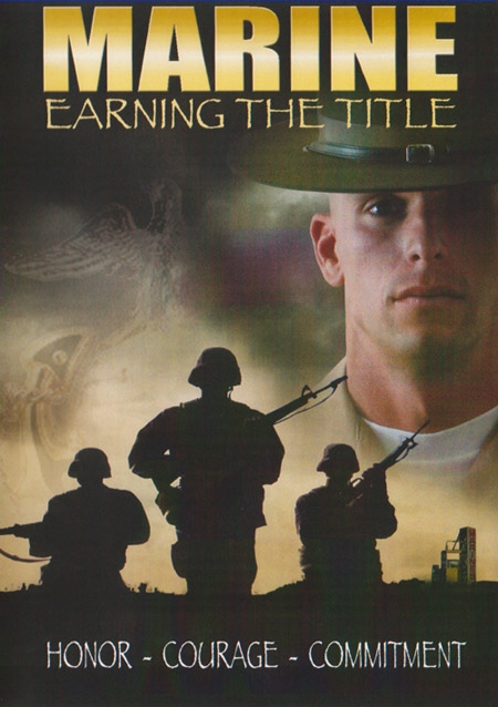 DVD cover of Marine: Earning the Title