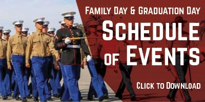 Family Day & Graduation Day Schedule of Events
