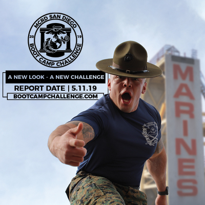 Boot Camp Challenge at MCRD San Diego. Report date May 5, 2019.