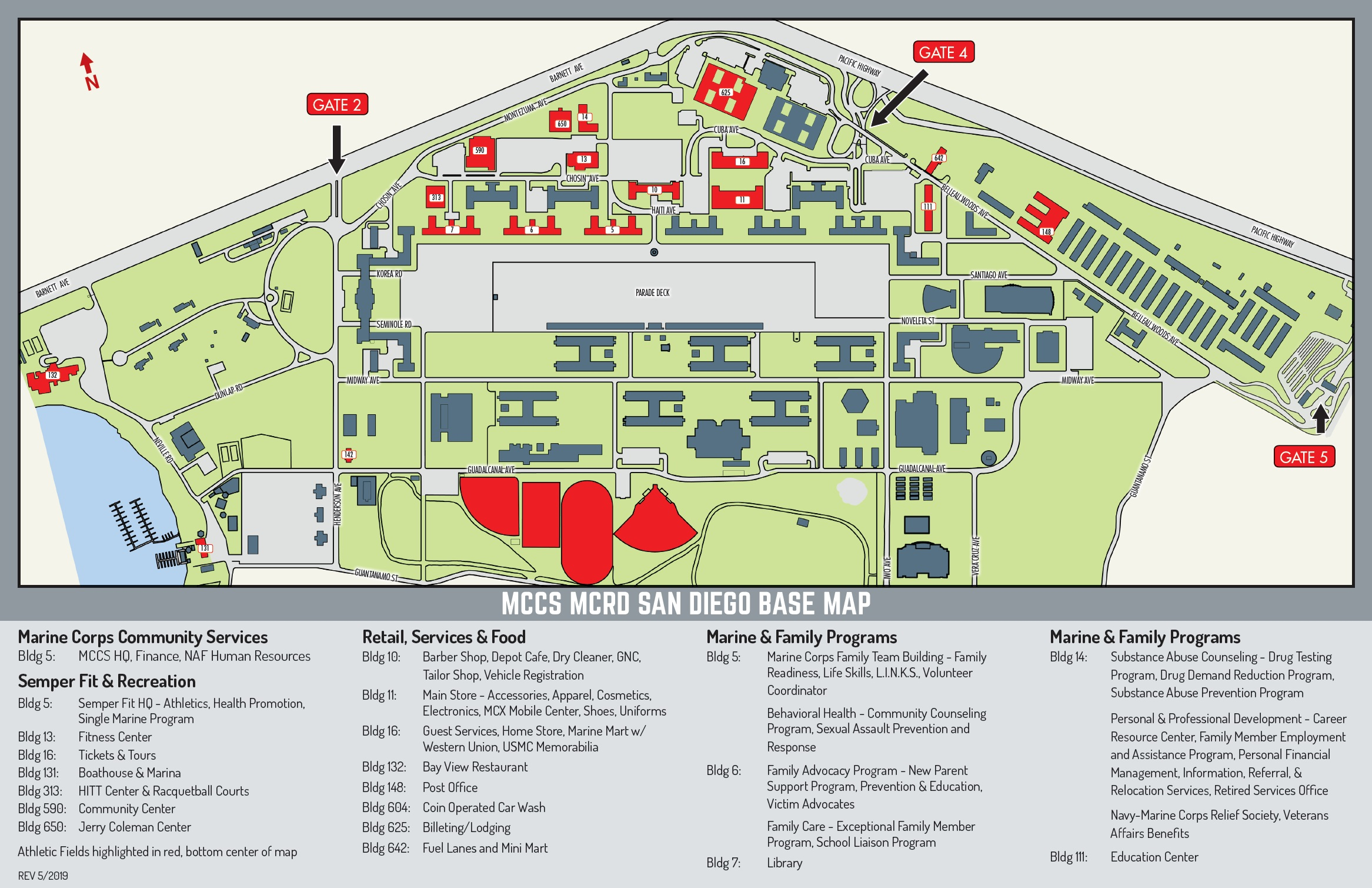 MCRD Base Map – Marine Corps Community Services, MCRD San go Road Sd Limits Map on