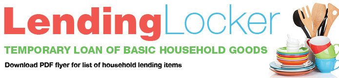Lending Locker graphic - Temporary Loan of Basic Household Goods